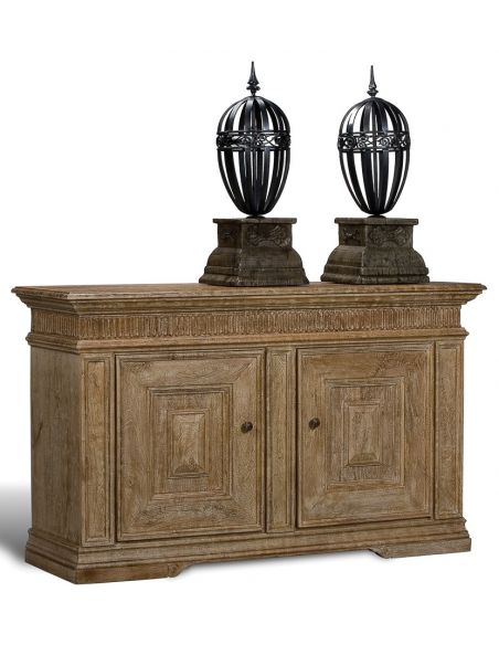 Breakfronts & China Cabinets Paneled 2 Door Sideboard Sedona