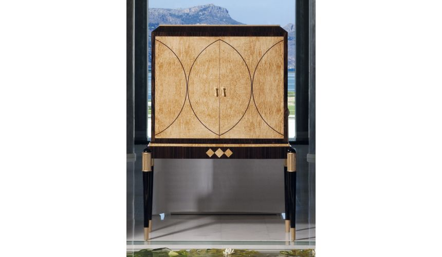 Breakfronts & China Cabinets RAHART COLLECTION. BAR CABINET
