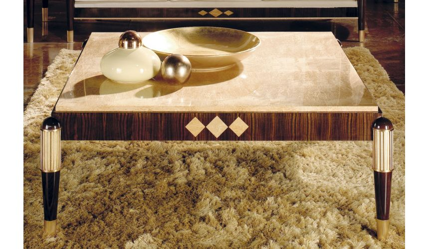 Rectangular and Square Coffee Tables RAHART COLLECTION. COFFE TABLE
