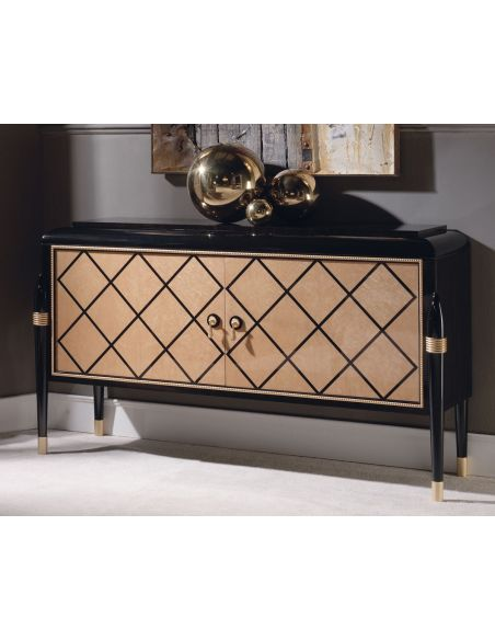 Breakfronts & China Cabinets RAHART COLLECTION. COMMODE