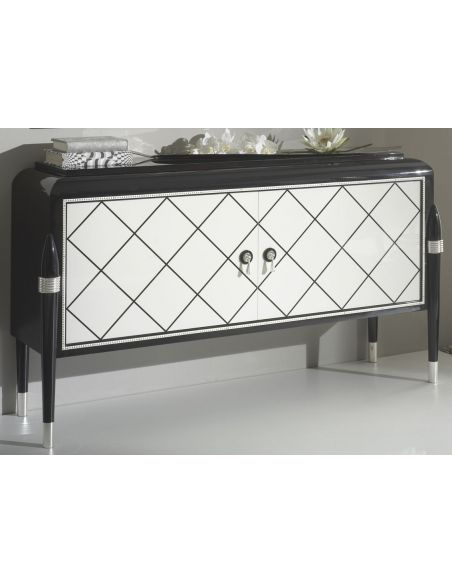 Breakfronts & China Cabinets RAHART COLLECTION. COMMODE B