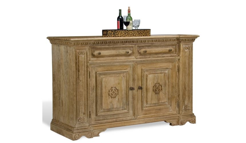 Breakfronts & China Cabinets Sedona Columns Sideboard