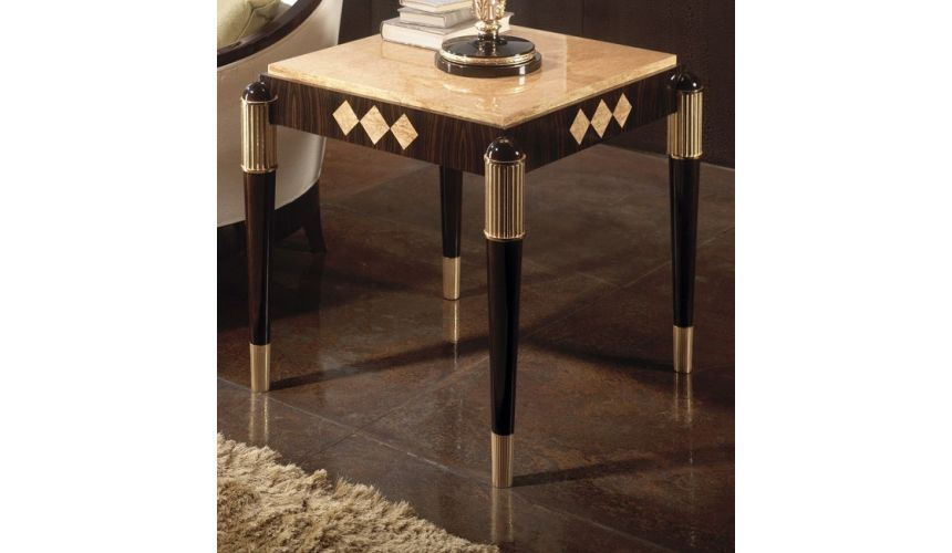 TABLES - SIDE, LAMP & BEDSIDE RAHART COLLECTION. SIDE TABLE