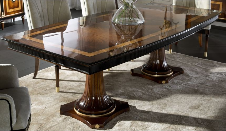 DINING ROOM FURNITURE WESTERLY COLLECTION. DINING TABLE