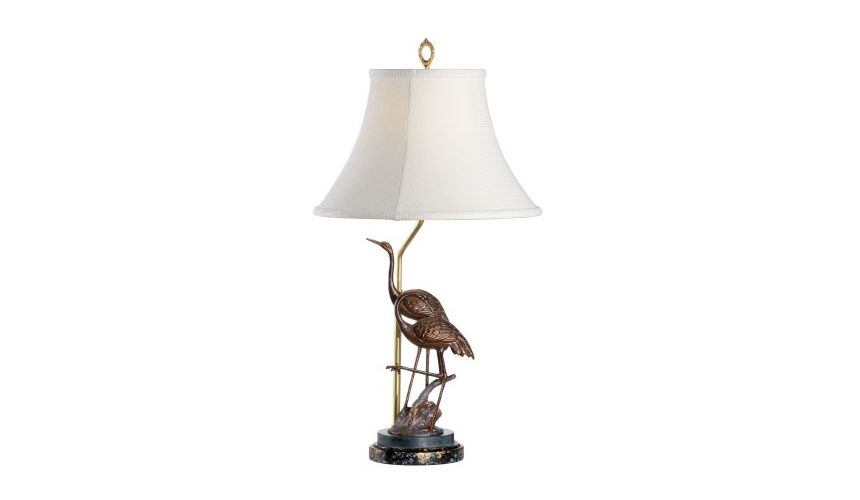 Decorative Accessories Steppin Cranes Table Lamp