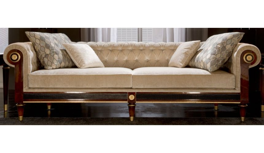 SOFA, COUCH & LOVESEAT WESTERLY COLLECTION. SOFA 3 SEATER
