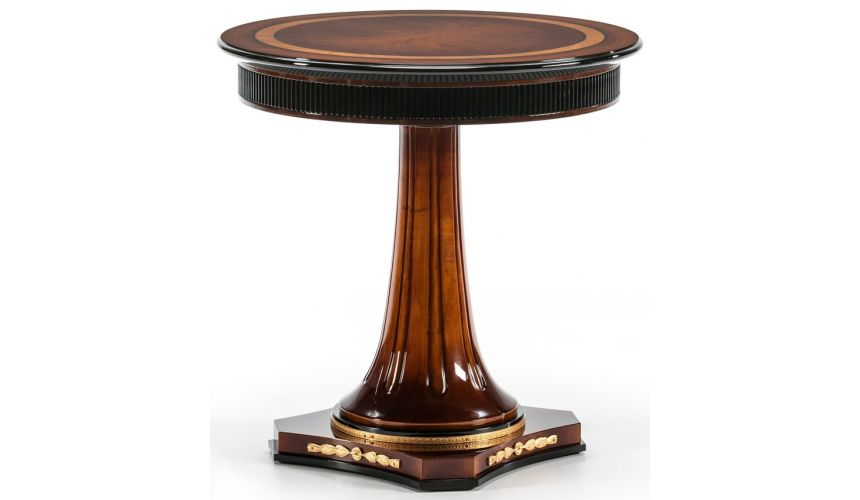 Round & Oval Side Tables WESTERLY COLLECTION. SIDE TABLE