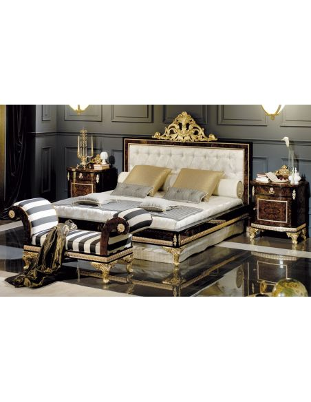 Queen and King Sized Beds HUDSON COLLECTION. BED