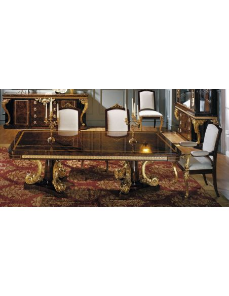 DINING ROOM FURNITURE HUDSON COLLECTION. DINING TABLE