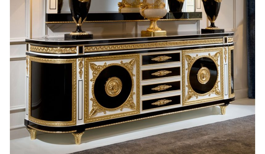 Breakfronts & China Cabinets STONINGTON COLLECTION. SIDEBOARD 70277