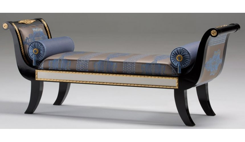 SETTEES, CHAISE, BENCHES STONINGTON COLLECTION. BENCH