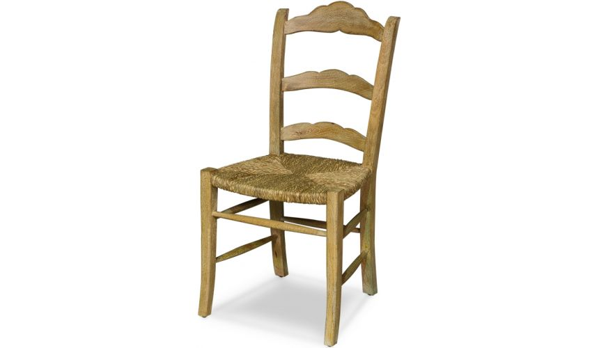 Dining Chairs Ladder Back Wooden Chair
