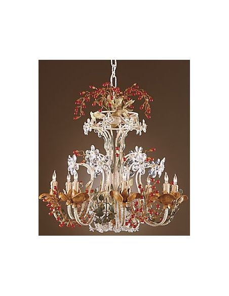 Decorative Accessories Sparkling Crystal Garden Lamp