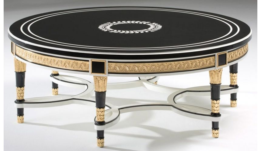 Round and Oval Coffee tables STONINGTON COLLECTION. COFFE TABLE B