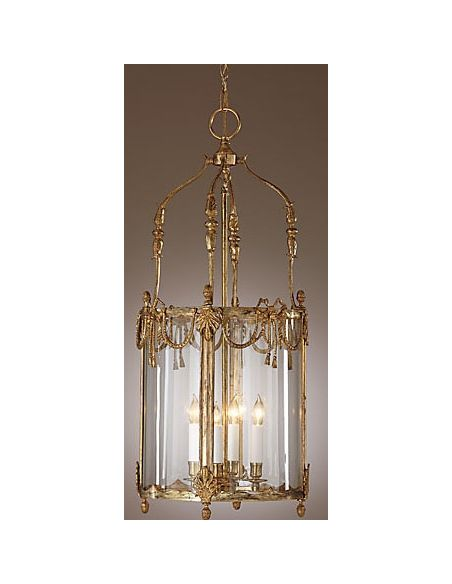 Decorative Accessories French Gold Brass Lantern