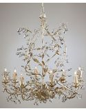 Bohemian Crystal Encrusted Chandelier