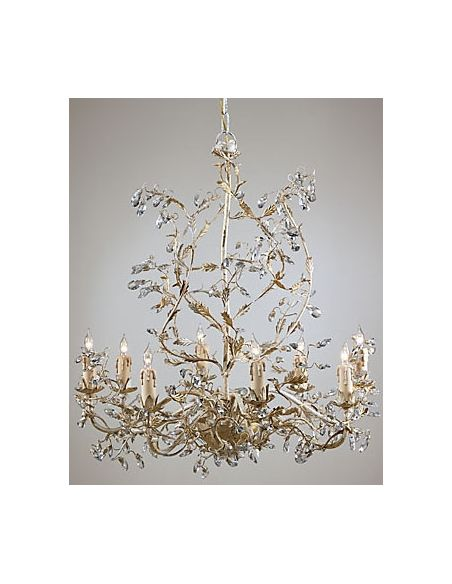 Lighting Bohemian Crystal Encrusted Chandelier