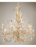 Crystal Clear Blooming Chandelier
