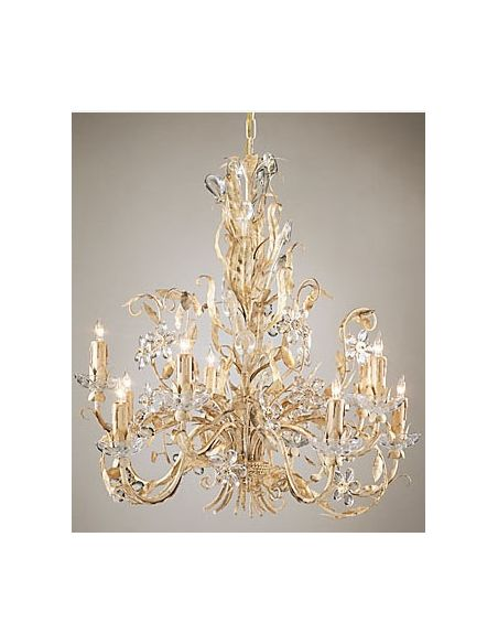 Lighting Crystal Clear Blooming Chandelier