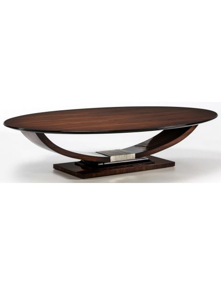 Round and Oval Coffee tables CHESIRE COLLECTION. COFFEE TABLE C