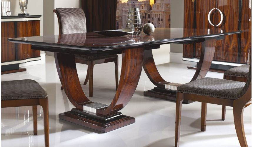 Mirrors, Screens, Decrative Pannels CHESIRE COLLECTION. DINING TABLE