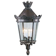 4-Light Bronze Lantern
