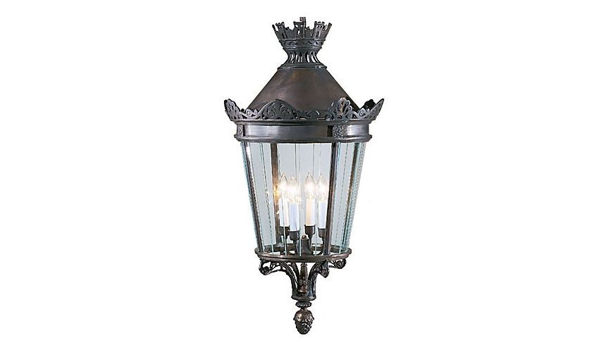 Decorative Accessories 4-Light Bronze Lantern