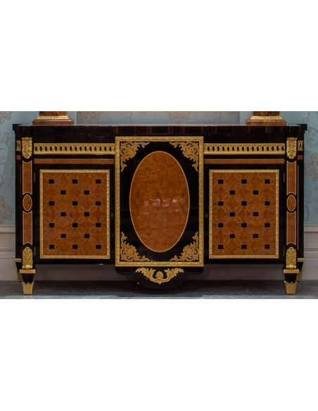 Breakfronts & China Cabinets MASTERPIECE COLLECTION. COMMODE -B