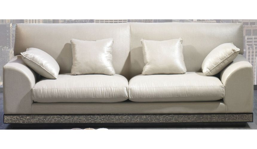 SOFA, COUCH & LOVESEAT PARIS COLLECTION. SOFA 3 SEATER