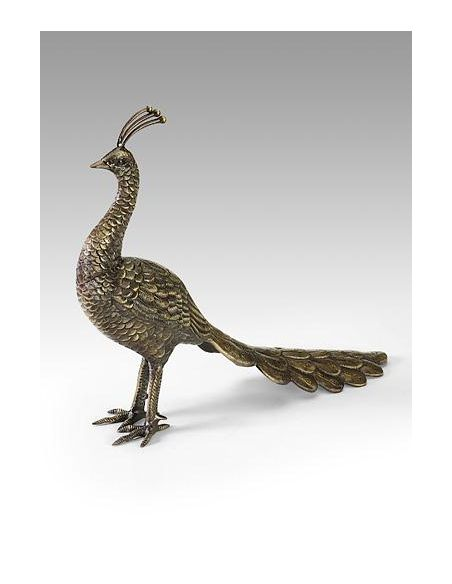 Decorative Accessories High Quality Furniture Solid Brass Peacock