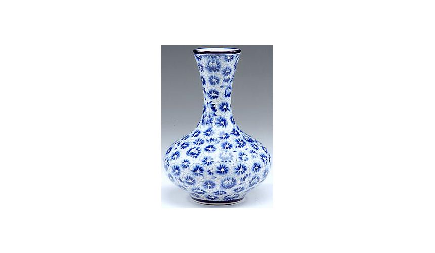 Decorative Accessories Luxury Interior Decor Hand Painted Flower Vase