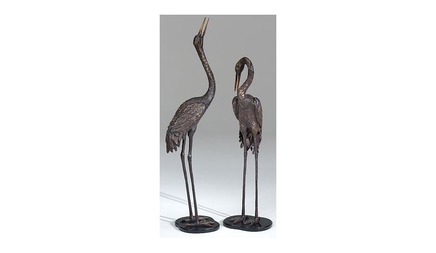 Decorative Accessories Sleek And Beautiful Crane Frame