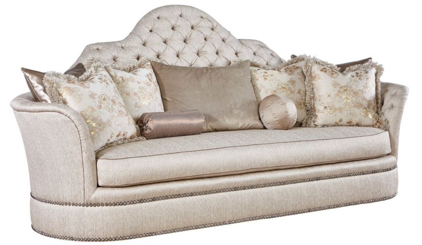 SOFA, COUCH & LOVESEAT Super glam large comfy sofa