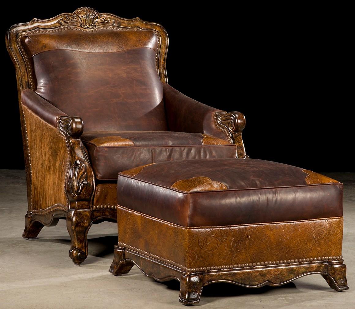 Strange Western Rustic Luxury Ottoman 49 Unemploymentrelief Wooden Chair Designs For Living Room Unemploymentrelieforg