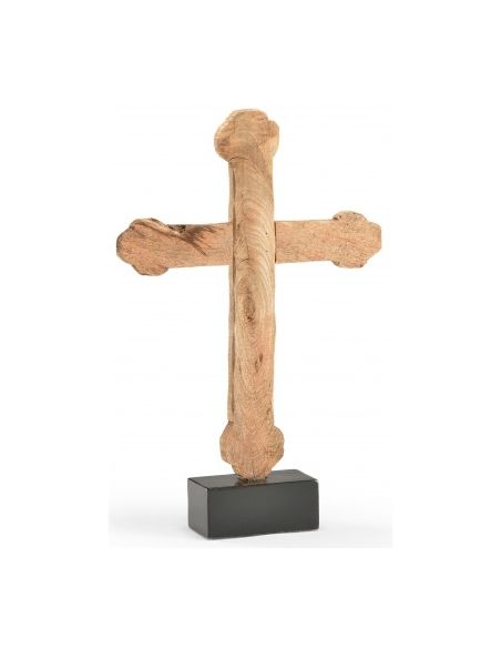 Decorative Accessories Hand Carved Wooden Cross