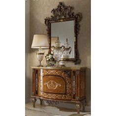 Chest of Drawers  Royal and Luxurious Cabinet and Mirror from our Venetian modern classic collection 7027