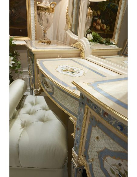 Dressing Vanities & Furnishings Palatial Fairytale Vanity from our Venetian modern classic collection 7034