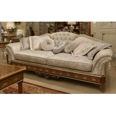 Royal Snow White Sofa from our Venetian modern classic collection 7014