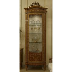 Luxurious Glass Cabinet from our Venetian modern classic collection 7015