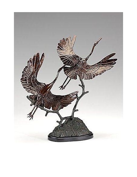 Decorative Accessories Home Accessories colored Cranes take Off