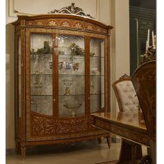 Grand and Luxurious Large Glass Display Case from our Venetian modern classic collection 7043