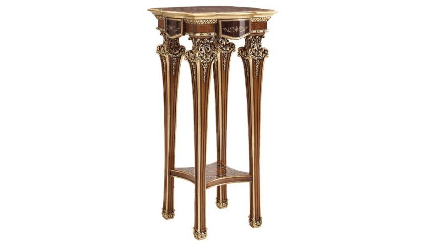 Handmade Italian Luxury Furniture Palatial Deluxe Side Table from our Venetian modern classic collection 7055