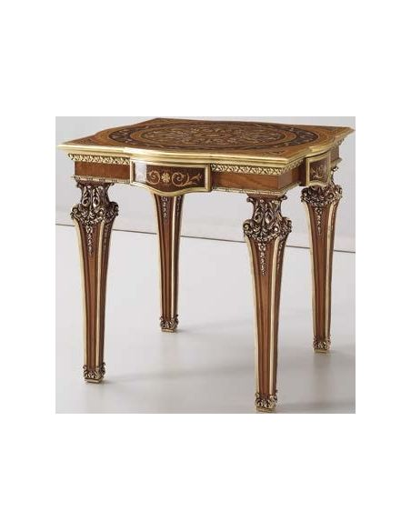 Square & Rectangular Side Tables Deluxe Milk Chocolate Side Table from our Venetian modern classic collection 7058