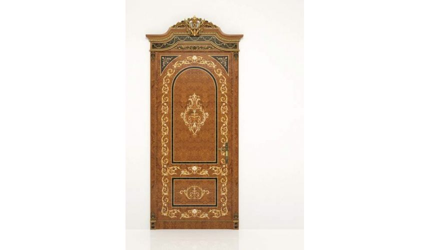 Architectural Wall & Ceiling Panels High End Classic Wooden Door from our Venetian modern classic collection 7070