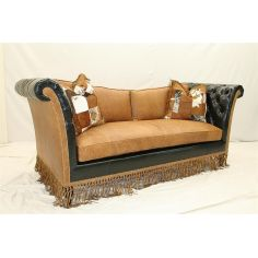 Luxurious Western Ranch Sofa high style furniture