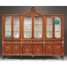 Gorgeous Showcase Cabinet from our European hand painted furniture collection. 7077