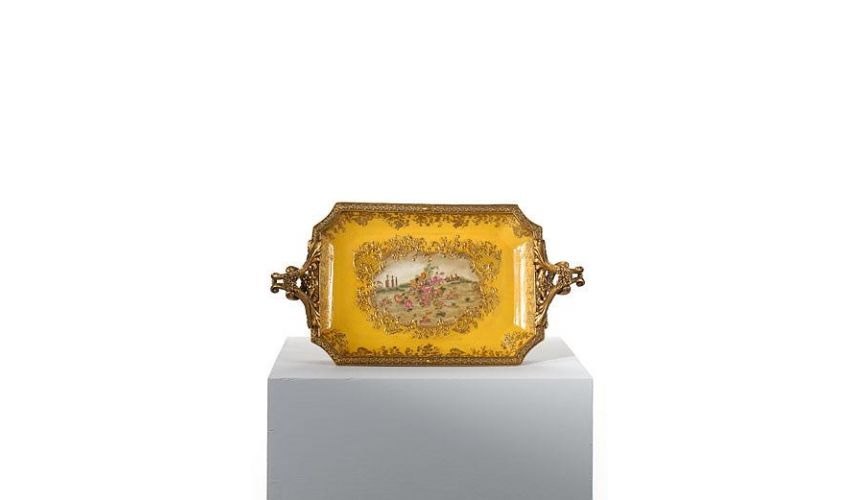 Decorative Accessories Home Accessories Porcelain Tray. Fabulous unique gift