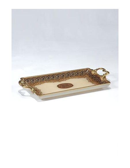 Decorative Accessories Home Accessories Luxurios Glass Tray