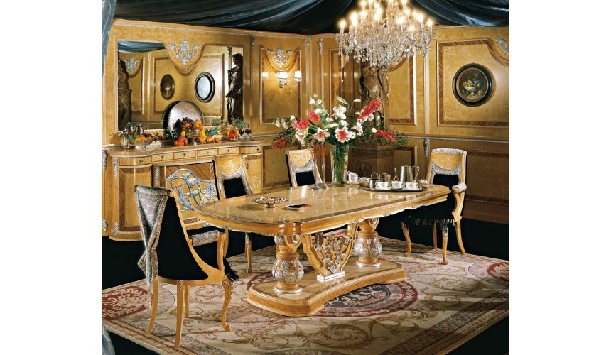 Dining Tables The grand dining table and set is a classical look