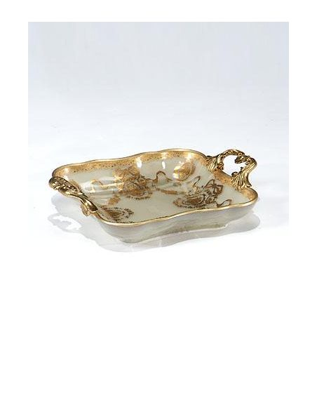 Decorative Accessories Home Accessories luxurious Painted Glass Tray